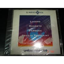 Pandora,lucero,magneto,cecilia Toussain-cd- El Nuevo Sol Daa