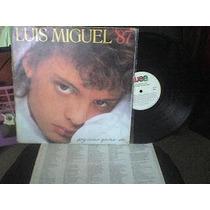 Disco Lp Luis Miguel Soy Como Quiero Ser