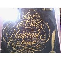 Disco Acetato De Valses De Oro Montovani Y Su Orquesta