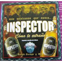 Cd Sencillo, Inspector, Cómo Te Extraño, Wsl