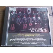 Rondalla De Saltillo Nuestras Mejores Canciones Cd Importado
