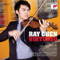 Violin Ray Chen - Virtuoso Bach Mozart Brahms Cd Fdp