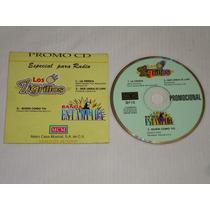 Los Tigrillos / Banda Estampida Cd Promo Mcm