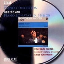 Richter - Liszt Piano Concertos Cd Clasica Wsl Fdp