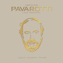 Opera Arias Luciano Pavarotti - Live Recital Cd Clasica Sp0
