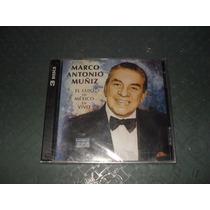 Marco Antonio Muñiz El Lujo De Mexico En Vivo 2cd+dvd
