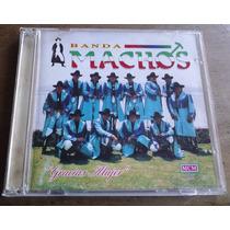 Banda Machos Gracias Mujer Cd 1a Ed 1994 C/ Booklet Wsl