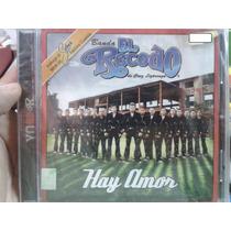 Cd Banda El Recodo Hay Amor Selena 100% Nuevo Y Sellado