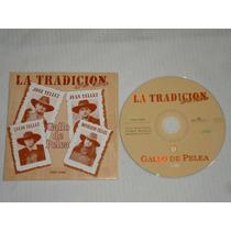 La Tradicion Del Norte - Gallo De Pelea Cd Promo Bmg Ariola