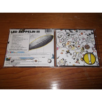 Led Zeppelin - Led Zeppelin 3 Cd Imp Ed 1990 Mdisk