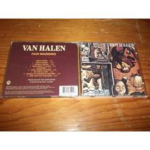 Van Halen - Fair Warning Cd Importado Ed 1990 Mdisk