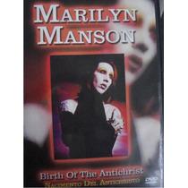 Dvd Concierto Marilyn Manson 2004 : Birth Of The Antichrist