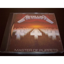Metallica Master Of Puppets Cd 1986 Metallica Records
