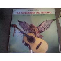 Disco Acetato De La Guitarra De Mexico Antonio Bribiesca