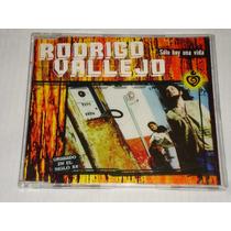 Rodrigo Vallejo - Solo Hay Una Vida Cd Promo Bmg Ariola 1999