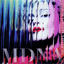 Madonna Mdna Ray Of Light 2012 Smirnoff Remix Vinil De Color