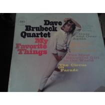 Disco Acetato De Dave Brubeck Quarter My Favorite Things
