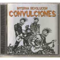 Convulciones - Revolucion Interna ( Punk Rock Hardcore ) Cd