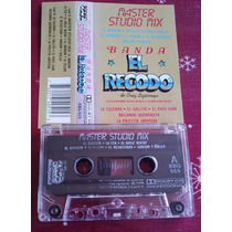 Banda El Recodo Master Studio Mix Cassete Raro Unica Ed 1994