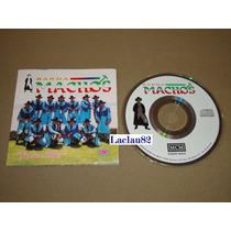 Banda Machos Gracias Mujer 1994 Musical Mcm Cd Cancionero