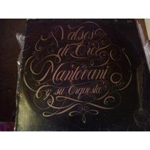 Disco Acetato De Valses De Oro Mantovani Y Su Orquesta