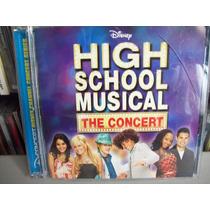 High School Musical: The Concert Cd + Dvd Importado