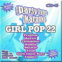 Party Tyme Karaoke: Chica Pop 22 (cd / Gs)