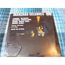 Disco Lp De Marchas Celebres Schubert Wagner Beethoven