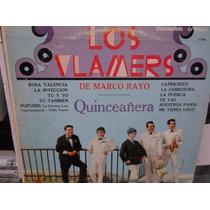 Los Vlamers De Marco Rayo Quinceañera Disco Lp Acetato Vinil