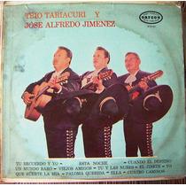Bolero, Trio Tariacuri Y Jose Alfredo Jimenez, Lp 12´,