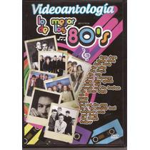 Dvd Originales Videoantología Lo Mejor De Los 80s