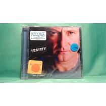 Cd Phil Collins - Testify / Steve Winwood Peter Gabriel