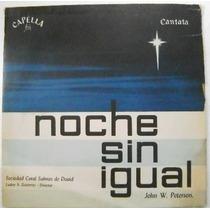 Noche Sin Igual / Soc. Coral Salmos De David 1 Disco Lp