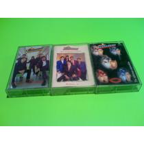 Audio Casettes Los Temerarios 3 Casettes 250 Pesos Los Tres
