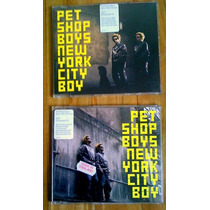 Pet Shop Boys Set De 2 Cds Ingleses New York City Boy Au1