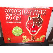 Vive Latino 2012 Edicion Especial Cd + Dvd Sellado