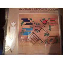 Disco Acetato De Navidad Y Reeconstruccion Coro Del Colegio