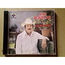 Estuche De Cd Antonio Aguilar Con Tambora Vol 2