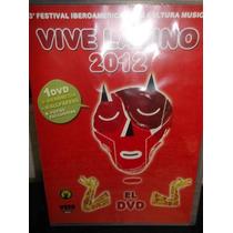 Vive Latino 2012 Dvd Sellado