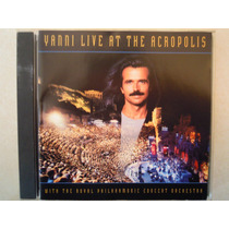 Yanni Cd Live At The Acropolis Made In Brazil