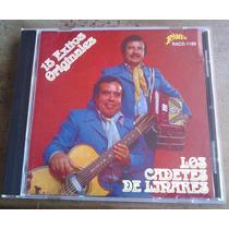 Los Cadetes De Linares 15 Exitos Cd Rarisimo 1a Ed 1994 Mdn