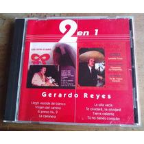 Cd Vol 1 Rarisimo Gerardo Reyes 2 Cds En 1 Unica Ed 1999 Mdn