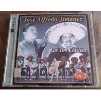 Jose Alfredo Jimenez Las 100 Clasicas Vol 2. Cd Doble Sp0