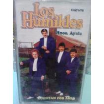 Los Humildes - Cuentar Por Ahi (casete Original)