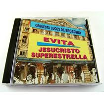 Evita / Jesucristo Super Estrella Cd Raro Imp. Canada 1996