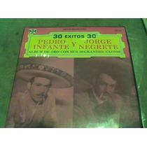 Album Discos L.p. 331/3 Pedro Infante Y J.negrete