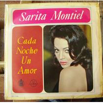 Española, Sarita Montiel, Cada Noche Un Amor, Lp 12´, Mdn