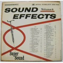 Efectos De Sonido / Sound Effects. Vol 8 1 Disco Lp Vinil