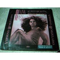 Disco Lp Diana Ross - Cubitos De Hielo - Version Remezclada