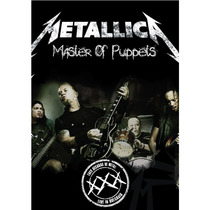 Metallica Master Of Puppets Dvd Nuevo Cerrado Nacional